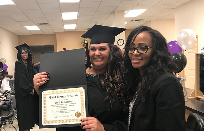 Total Beauty Institute Cosmetology Graduates